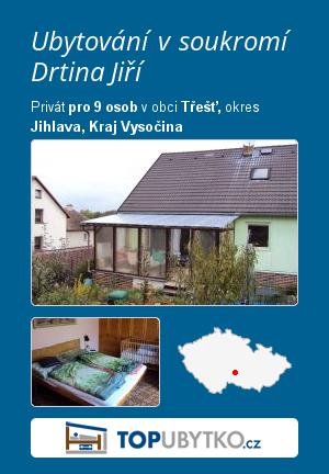 Ubytování v soukromí Drtinová Magda - TopUbytko.cz