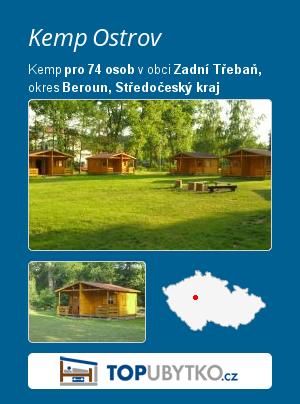Kemp Ostrov - TopUbytko.cz