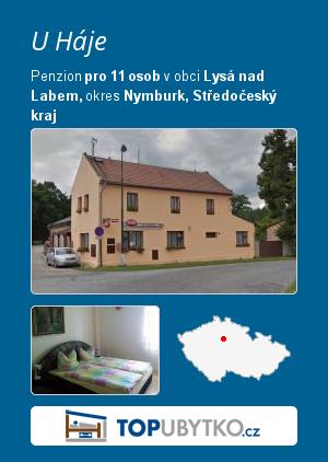 U Háje - TopUbytko.cz