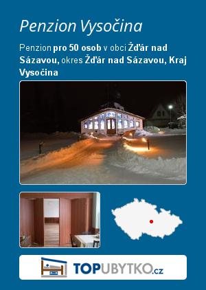 Penzion Vysočina  - TopUbytko.cz