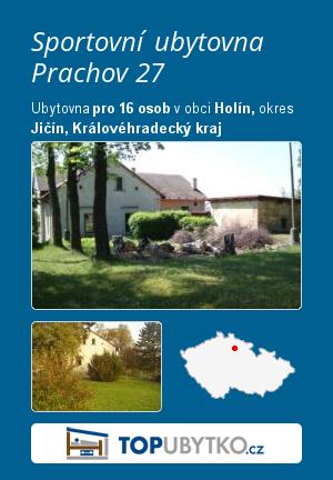 Sportovní ubytovna Prachov 27 - TopUbytko.cz