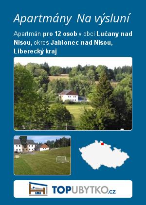 Apartmány Na výsluní - TopUbytko.cz