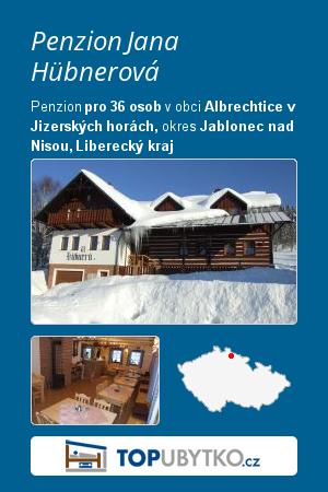Penzion Jana Hübnerová - TopUbytko.cz