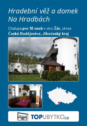Hradební věž a domek Na Hradbách - TopUbytko.cz