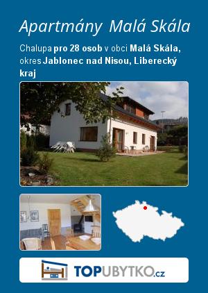 Apartmány Malá Skála - TopUbytko.cz