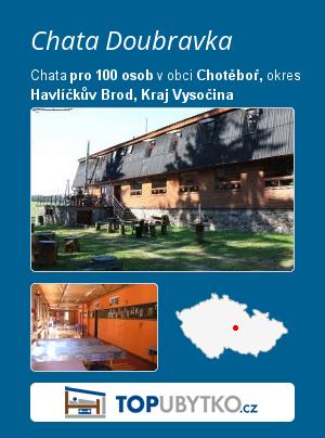 Chata Doubravka - TopUbytko.cz