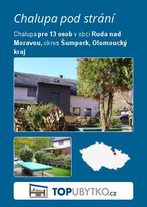 Chalupa pod strání - TopUbytko.cz