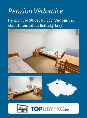 Penzion Vědomice - TopUbytko.cz