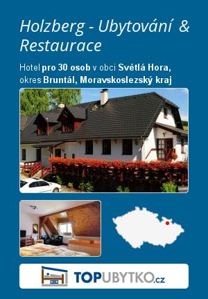 Holzberg - Ubytování & Restaurace - TopUbytko.cz