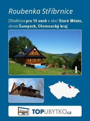 Roubenka Stříbrnice  - TopUbytko.cz