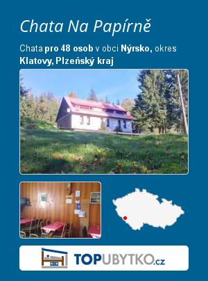 Chata Na Papírně - TopUbytko.cz
