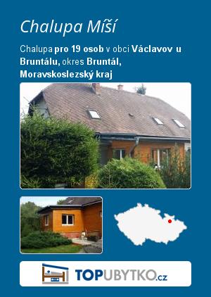 Chalupa Míší - TopUbytko.cz