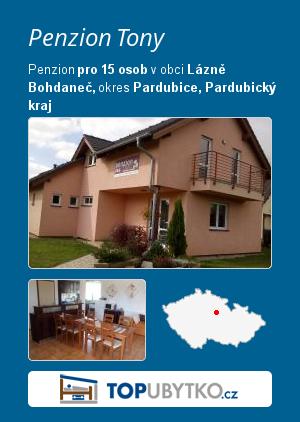 Penzion Tony - TopUbytko.cz