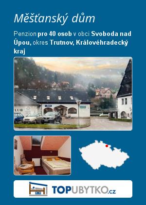 Měšťanský dům - TopUbytko.cz