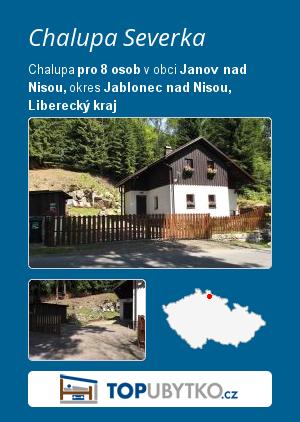 Chalupa Severka - TopUbytko.cz