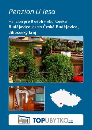 Penzion U lesa - TopUbytko.cz