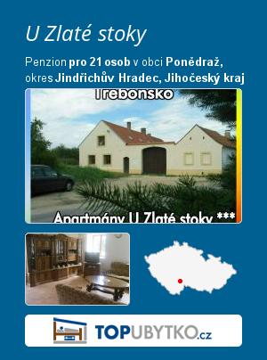 U Zlaté stoky - TopUbytko.cz