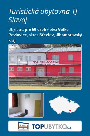 Turistická ubytovna TJ Slavoj - TopUbytko.cz