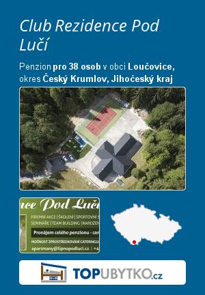 Club Rezidence Pod Lučí - TopUbytko.cz