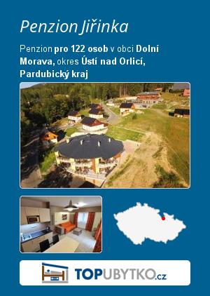 Penzion Jiřinka - TopUbytko.cz