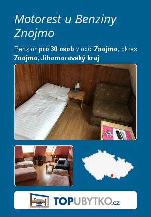 Motorest u Benziny Znojmo - TopUbytko.cz