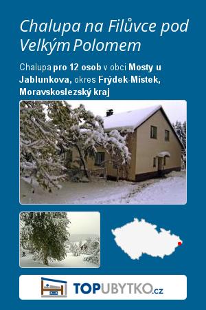 Chalupa na Filůvce pod Velkým Polomem - TopUbytko.cz